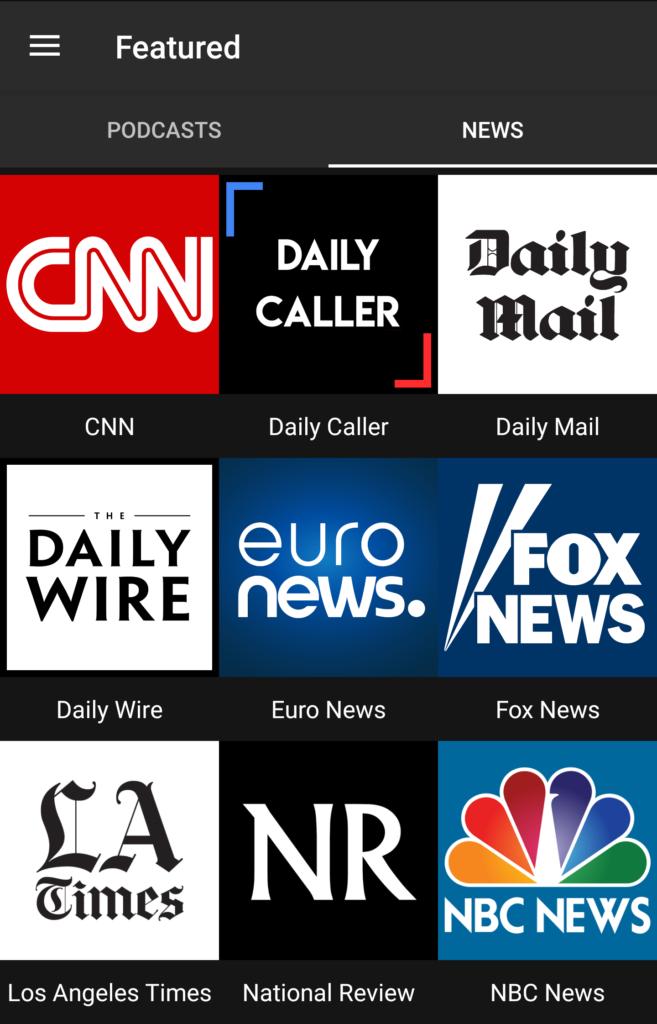 Featured News Feeds